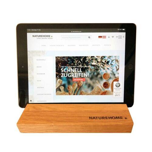 NATUREHOME Tablet-halter Versch. Holzarten 19,5 x 12,5 x 2,5 Cm