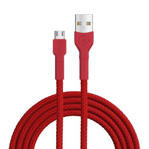 Recable Usb-kabel Ladekabel Recyclebar, Fair Und Transparent rot