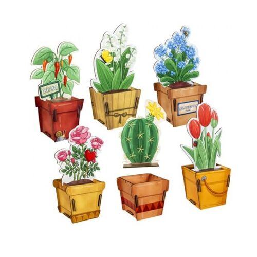 Werkhaus GmbH Geschenkverpackung Geschenkbox Aus Holz - Blumen & Pflanzen tulpen