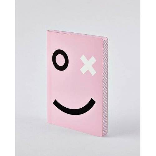 Nuuna Ox - Premium Notizbuch Mit Ledereinband In Rosa rosa