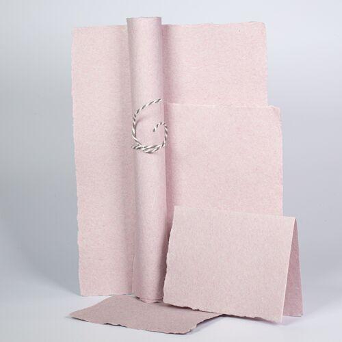 nahtur-design Papierset Aus Leinen-büttenpapier leinen