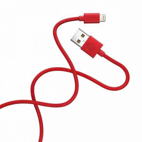 Le Cord Ladekabel Apple Geräte - Ghost Net 2.0 - 2m rot(red)