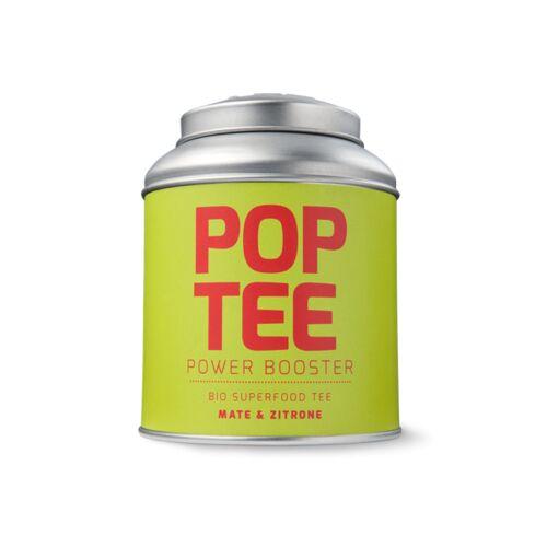 POP TEE Bio Superfood Fitness-tee Mit Mate & Zitrone 60g zitrone