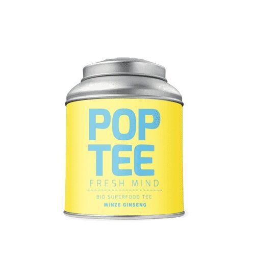 POP TEE Bio Superfood Fresh Mind-tee Mit Ginseng & Minze 40g