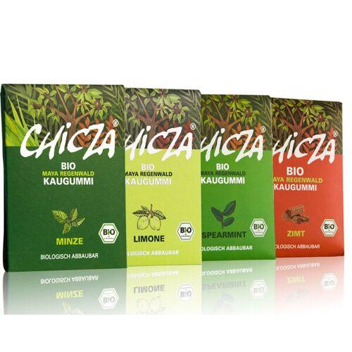 Chicza Chizca Biokaugummi 4er Pack