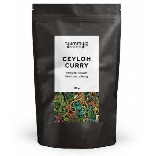 Yummy Organics Bio Gewürzmischung Ceylon Curry Yummy Organics curry