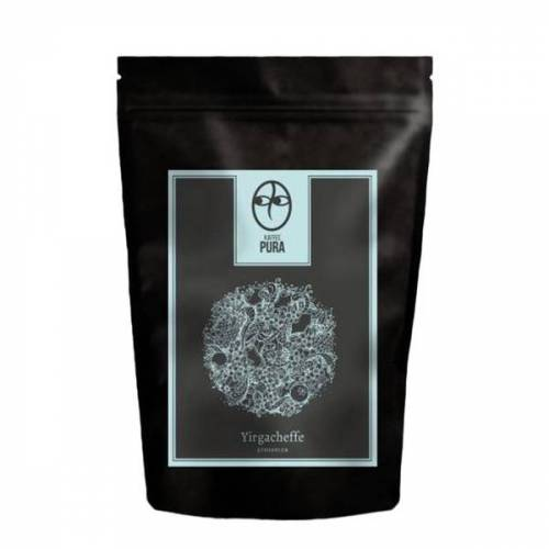 Kaffee Pura Premium Bio Kaffee - Yirgacheffe Äthiopien - Bohne & Gemahlen kaffee
