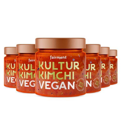 Fairment Bio Kultur-kimchi Vegan (6 x 330g)