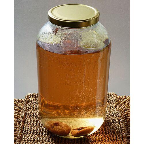 Wellness-Drinks Bio Ginger Root Kefir Drink Mit Japankristallen (Klein)