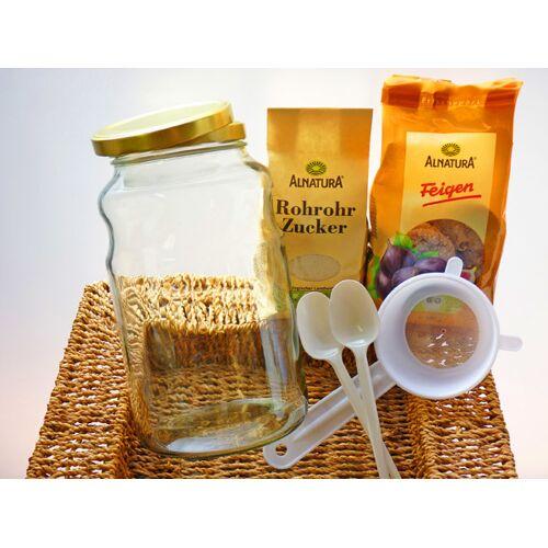 Wellness-Drinks Wasserkefir - Komplettpaket Für 2,5 Liter: Bio Wasserkefir Mit Zubehör