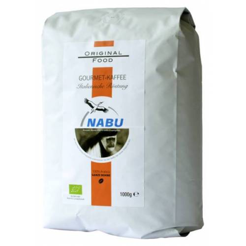 NABU Gourmet-kaffee Ganze Bohne, 1kg kaffee