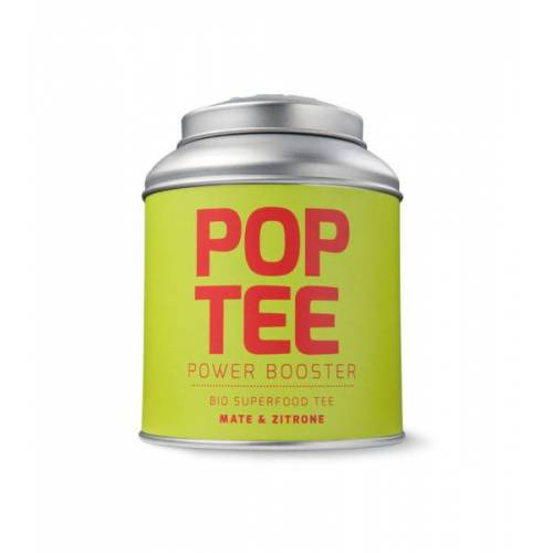 POP TEE Bio Superfood Fitness-tee Mit Mate & Zitrone 60g zitrone