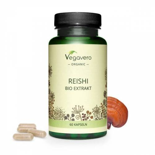 Vegavero Bio Reishi Kapseln