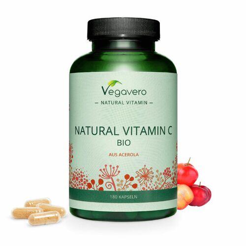 Vegavero Natürliches Vitamin C Aus Bio Acerola Kapseln