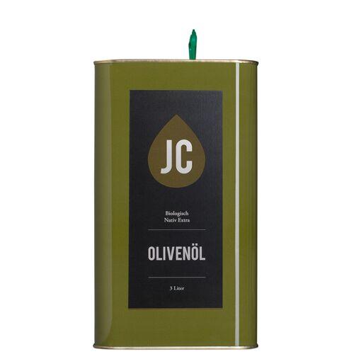 Jc Olivenöl - 3 Liter Kanister - Bio Olivenöl Nativ Extra In Premium Qualität - Griechenland, Kalamata (Pdo)