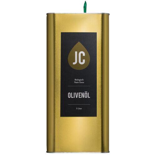 Jc Olivenöl - 5 Liter Kanister - Bio Olivenöl Nativ Extra In Premium Qualität - Griechenland, Kalamata (Pdo)