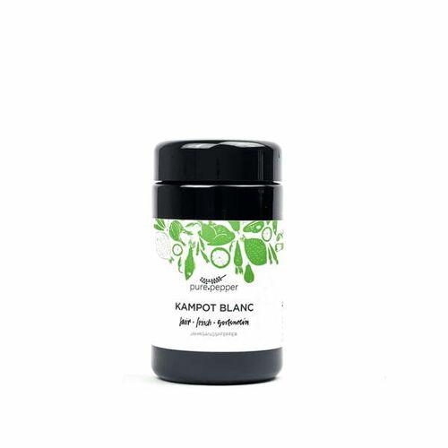 Pure Pepper Kampot Blanc Pfeffer 40g