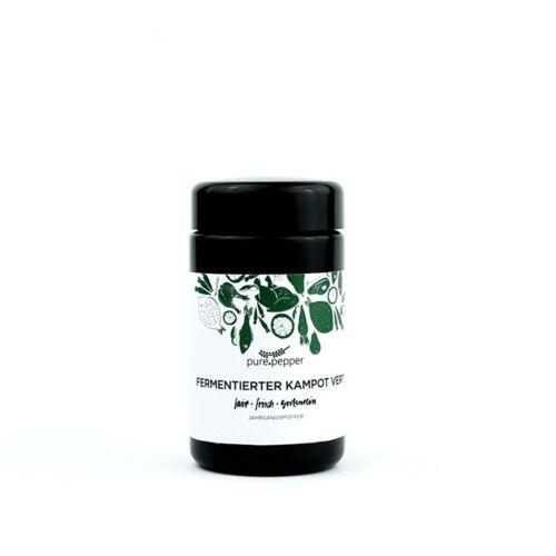 Pure Pepper Fermentierter Kampot Vert Pfeffer