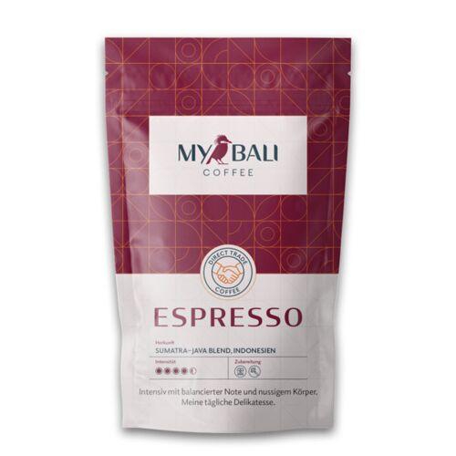 MYBALI COFFEE Kaffeebohne Espresso - 250g