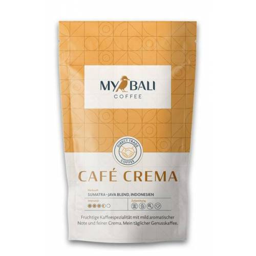 MYBALI COFFEE Kaffeebohne Café Crema - 250g café