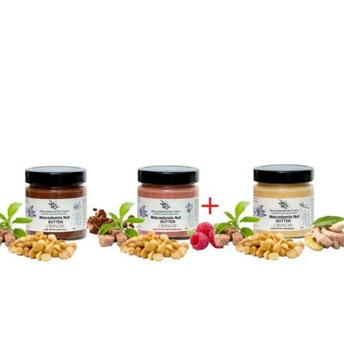 Macadamia Nut Farm Set Macadamia-nuss-cremes Mit Stevia