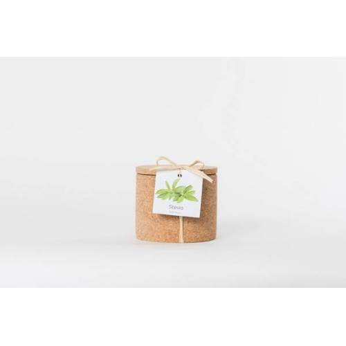 Life in a bag Grow Kork Stevia Der Zuckerersatz Im Korktopf