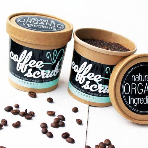 Eve Butterfly Soaps Coffee Body Scrub - Kaffeepeeling - Peppermint coffee
