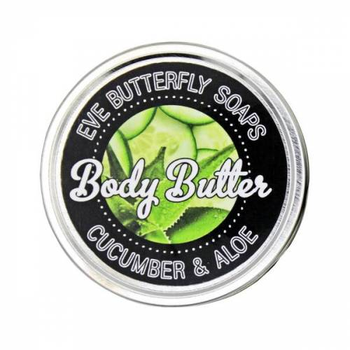 """Eve Butterfly Soaps Shea Body Butter """"Cucumber & Aloe"""""""