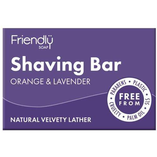 Friendly Soap Seife Rasierseife Lavendel Orange orange