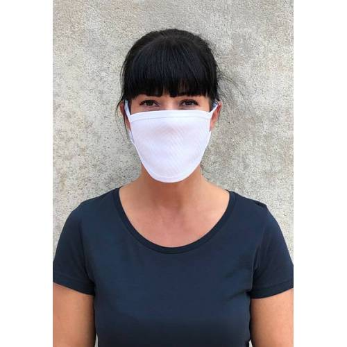 GreenBomb 3er Pack Mund-nasenmaske white