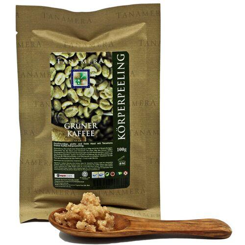 Tanamera® Grüner Kaffee Körperpeeling 100g kaffee