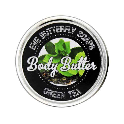 "Eve Butterfly Soaps Shea Body Butter ""Green Tea"" green"