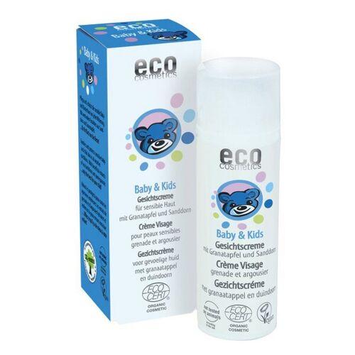 eco cosmetics Eco Baby & Kids Gesichtscreme Mit Granatapfel Und Sanddorn