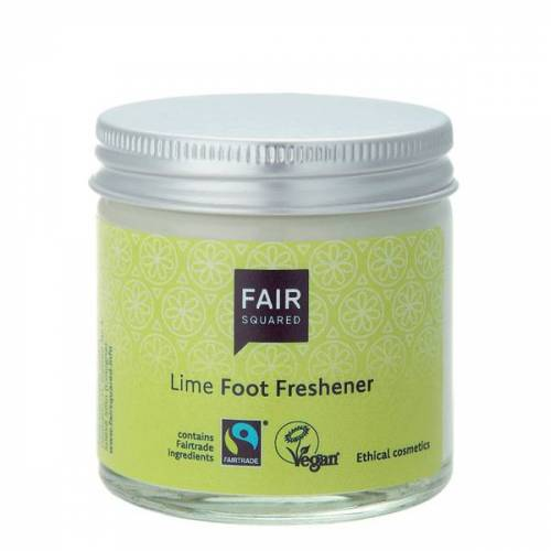 Fair Squared Fußcreme Limette Im Glas limette