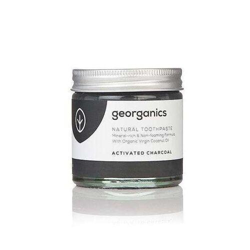 Georganics Natürliche Mineralhaltige Zahnpasta Activated Charcoal charcoal