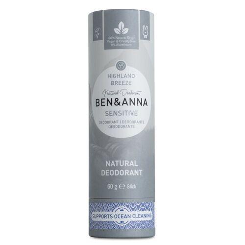 Ben&Anna Ben & Anna Natürliches Soda Deodorant Sensitive Highland Breeze
