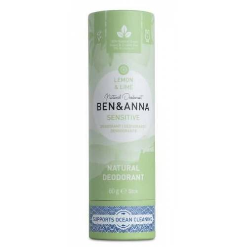 Ben&Anna Ben & Anna Natürliches Soda Deodorant Sensitive Lemon & Lime lime