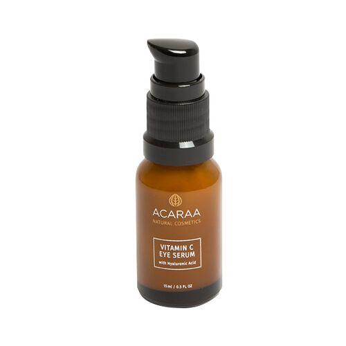 ACARAA Naturkosmetik Vitamin C Augenserum Mit Hyaluronsäure