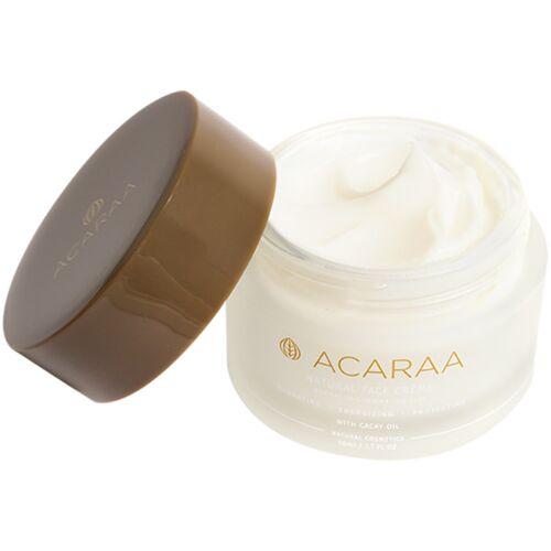 ACARAA Naturkosmetik Vegane Gesichtscreme Für Normale Haut Bis Mischhaut Mit Aloe Vera