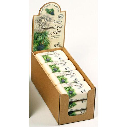 Saling Naturprodukte Schafmilchseife Zirbe 12er Set