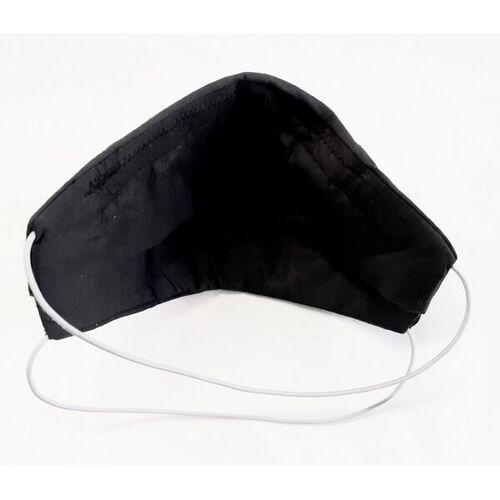 superranzen Mund-und Nasen Maske Easy Breath Black black
