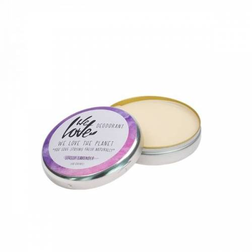 We love the planet Natürliche Deodorant Creme - Lovely Lavender creme