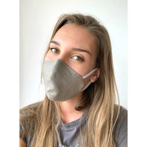 Mel Scherer Bio Ergonomische Maske Gut Für Brillenträger grün und braun M