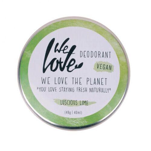 We love the planet Natürliche Deocreme Luscious Lime (Vegan Mit Natron) lime