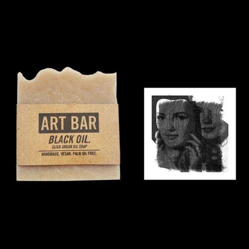 Jen Black Natürliche Seife (Argan Ölseife) + Limited Edition Druck