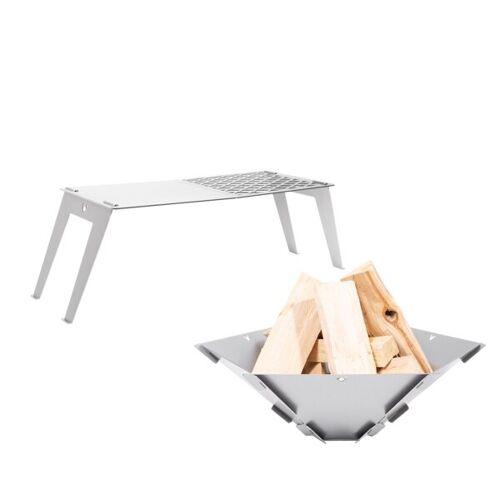 Fennek Grill-set Hexagon + Grillplatte