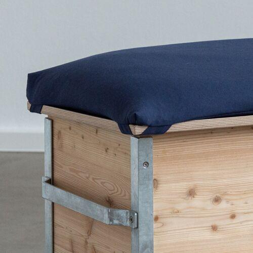 hubus Sitzkissen Für Den Wurmkomposter blau