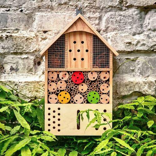Bambuswald© Insektenhotel / Insektenhaus Für Garten & Balkon Ca. 43x24cm