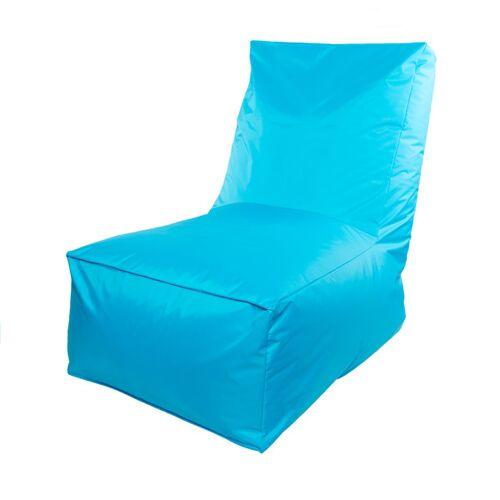 RELAXFAIR Outdoor Relaxfair Relaxsessel, Lounge, Sitzsack 100% Recyceltes Nylon aqua