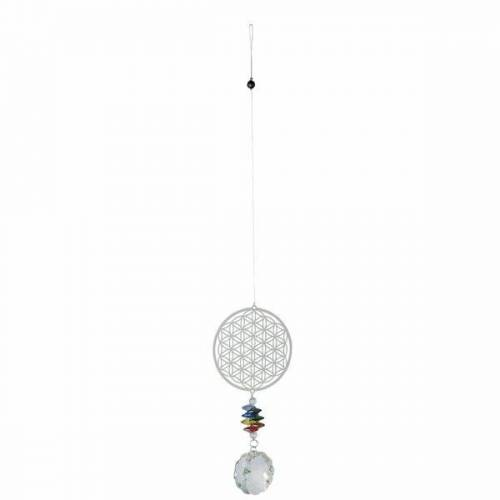 Mitienda Shop Windspiel Mit Kristall, Blume Des Lebens